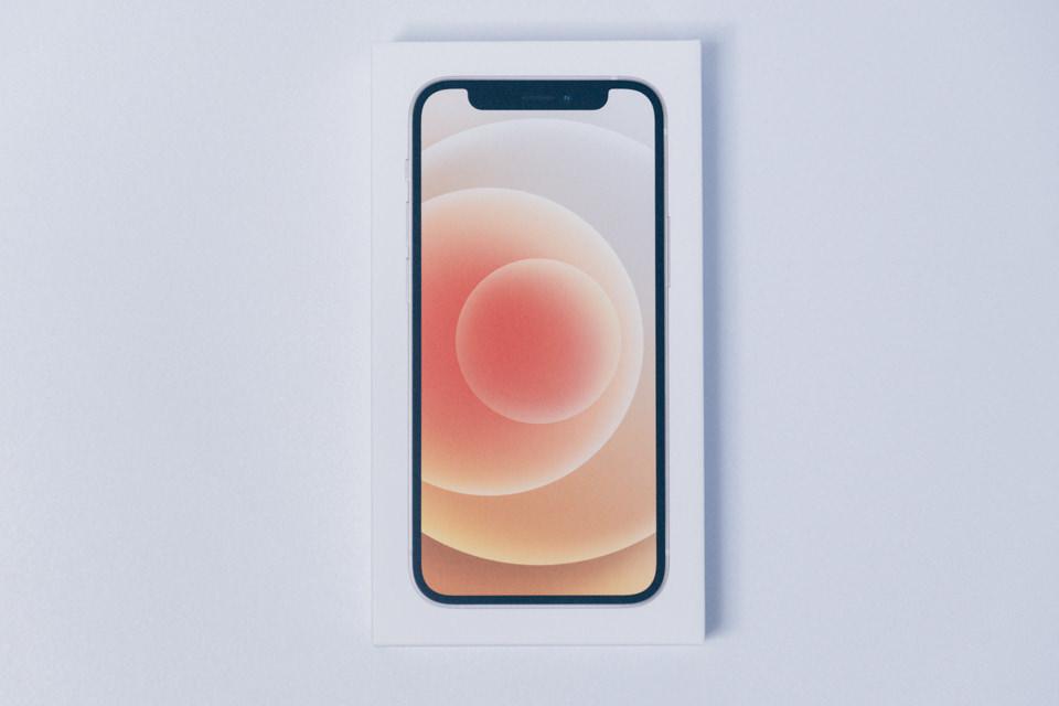 iPhone12 miniのパッケージ
