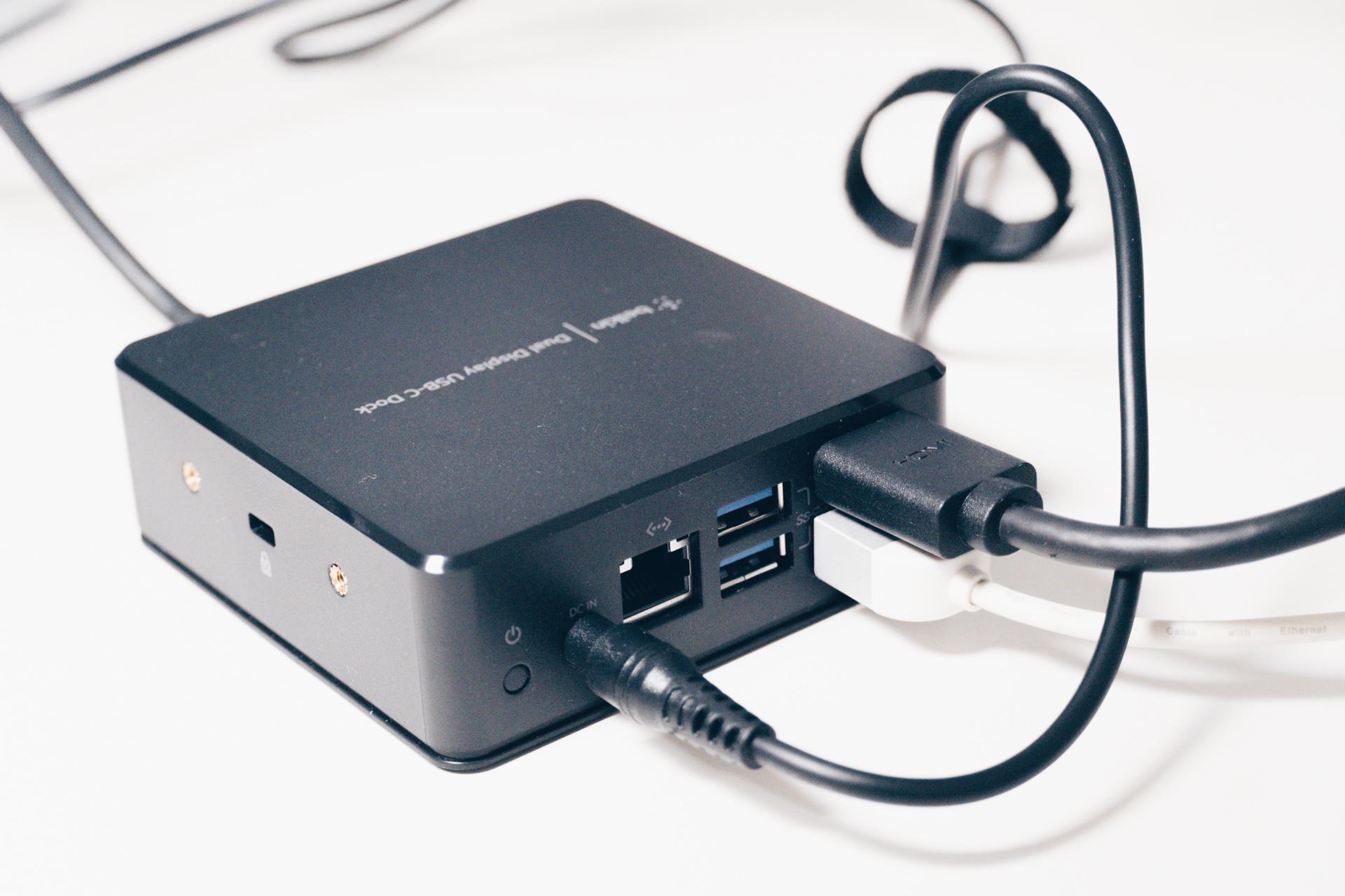Belkin USB-Cデュアルディスプレイドッキングステーション レビュー