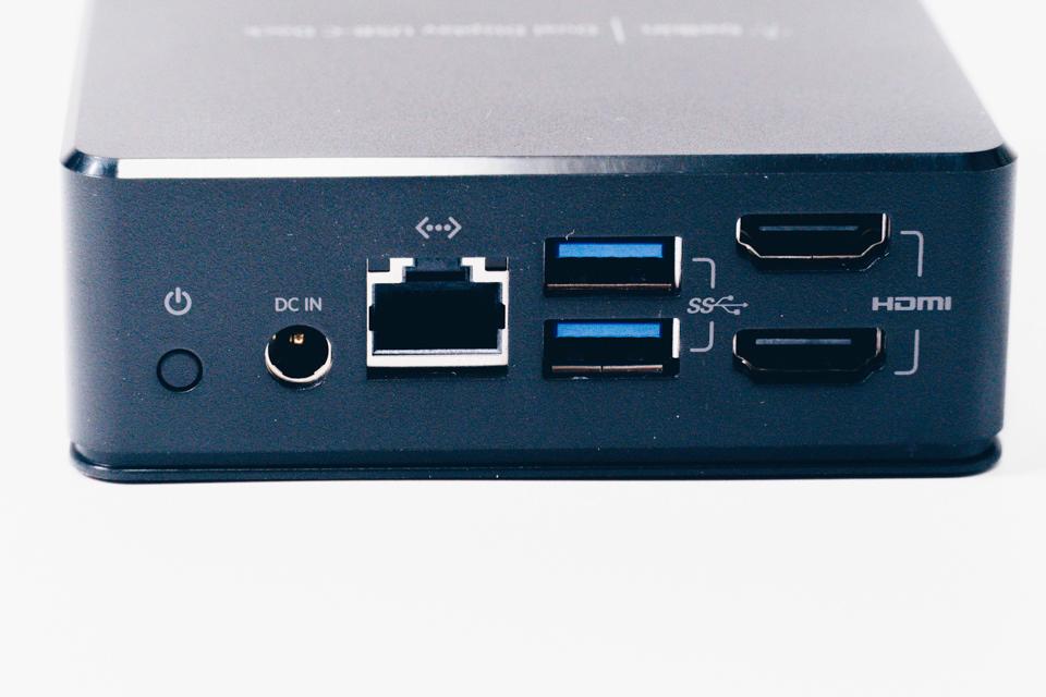 Belkin USB-Cデュアルディスプレイドッキングステーション本体裏面