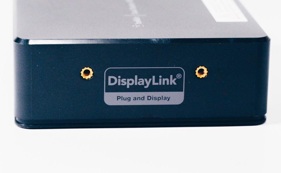 Belkin USB-Cデュアルディスプレイドッキングステーション本体側面