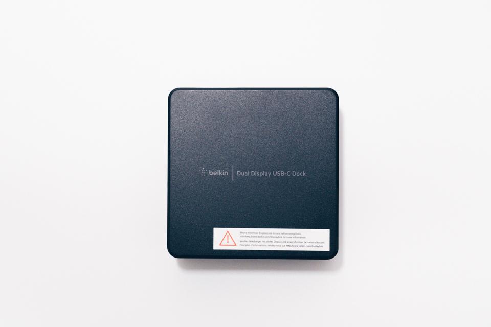 Belkin USB-Cデュアルディスプレイドッキングステーション本体