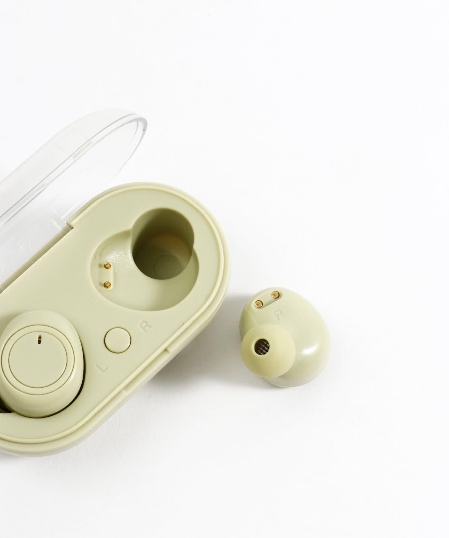 ワイヤレスステレオイヤホン(カナル型:グリーン)