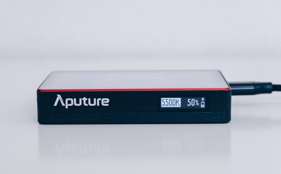 Aputure AL-MC本体の液晶ディスプレイ