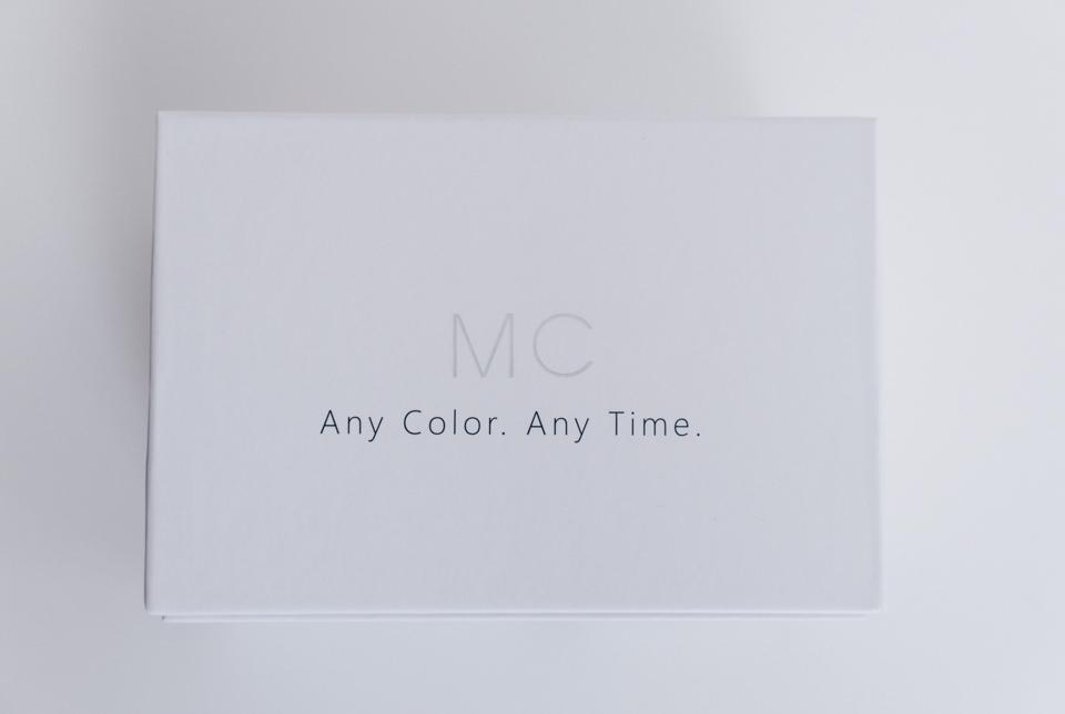 Aputure AL-MCのパッケージに書かれたメッセージ