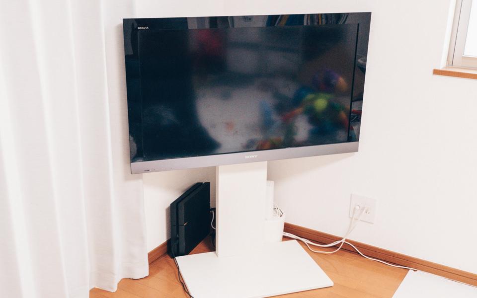 Fire TV Stick 4K本体を取り付けるテレビ