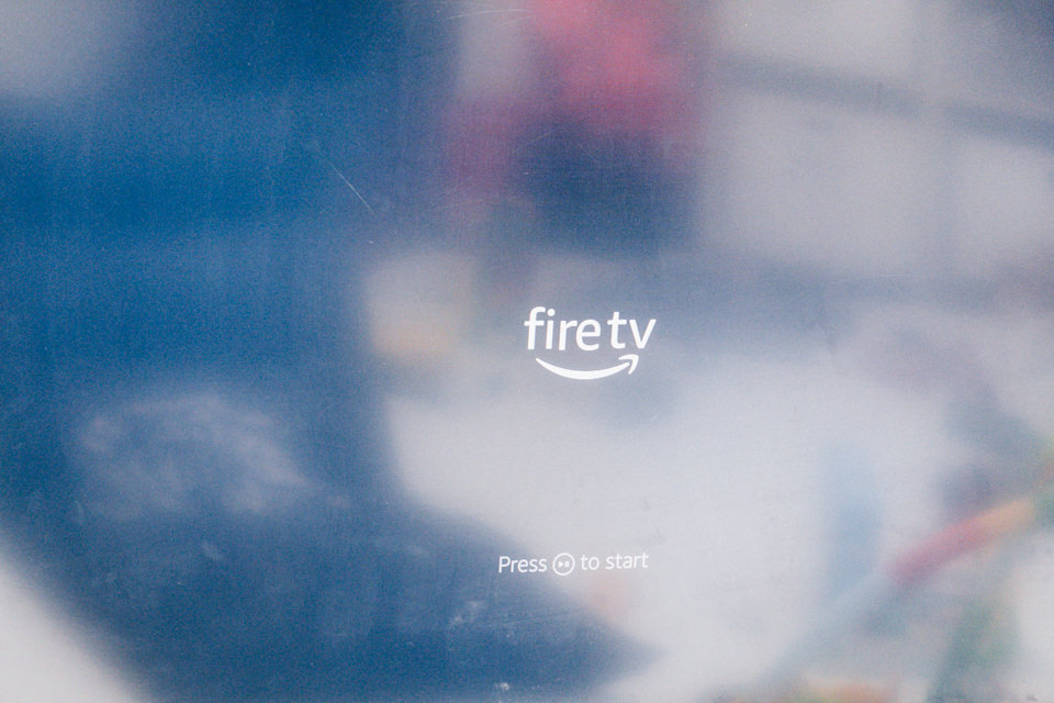 Fire TV Stick 4Kが起動しました