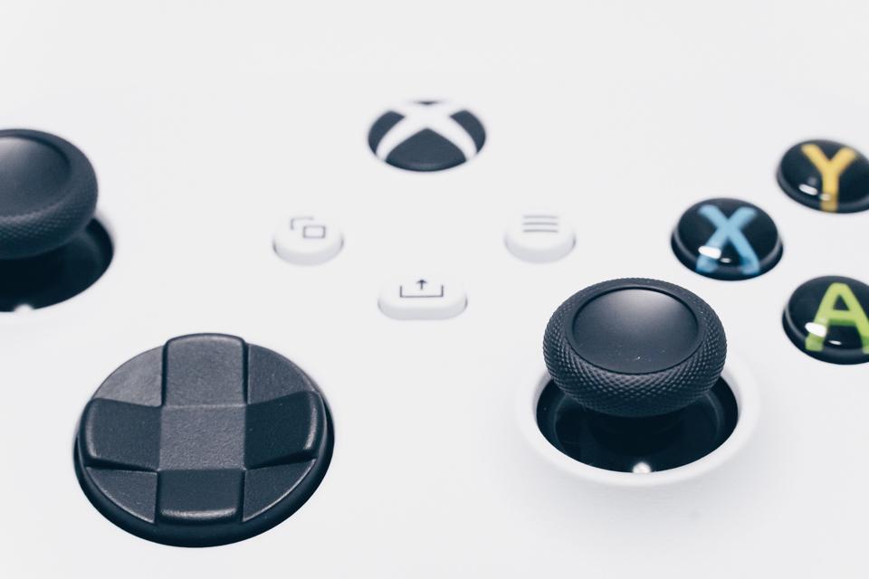 Xbox ワイヤレスコントローラーのボタン配置