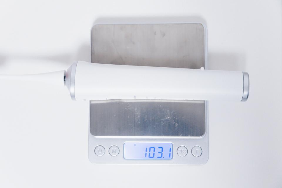 ドルツ音波電動歯ブラシ EW-CDP34の重量